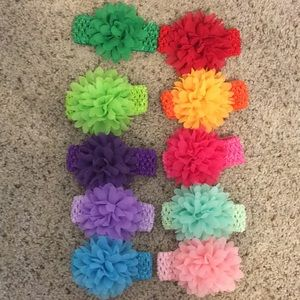 Other - 10 hair bows
